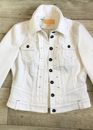 Пиджак джинсовый куртка котонка женская biba с