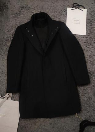 Стильное пально на молнии zara zip coat
