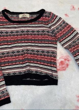 Шерстяная кофта свитер atmosphere