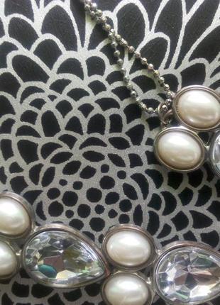 Бижутерия набор от oriflame браслет и кулон