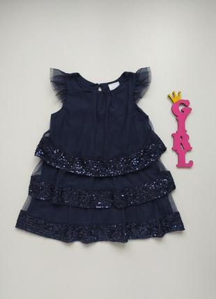 1,5-2 года, платье туника f&f.