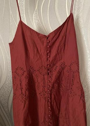 Красивое платье с перфорацией asos