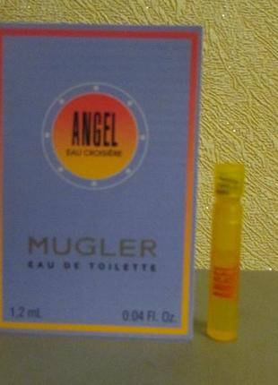 Туалетная вода angel eau croisière mugler  1,2 мл