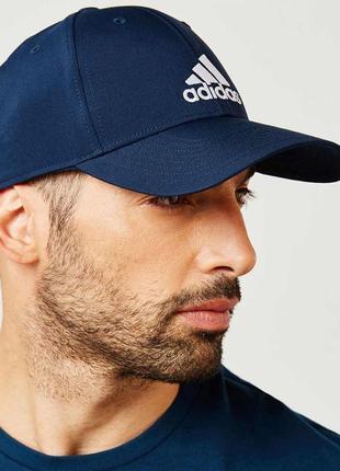 Кепка adidas classic синяя оригинал новая с бирками бейсболка one size