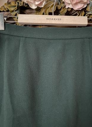 Шерстяная юбка asos