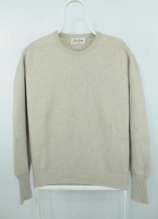 Премиальный шерстяной свитер john laing premium wool sweater