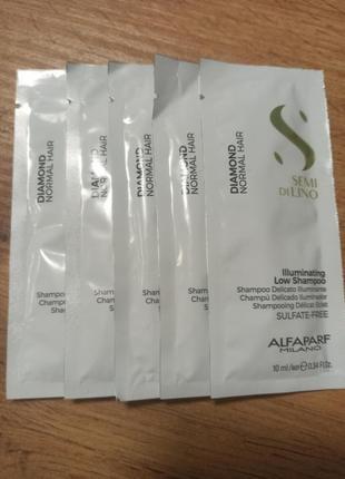 Alfaparf milano шампунь для волос с микрокристаллами