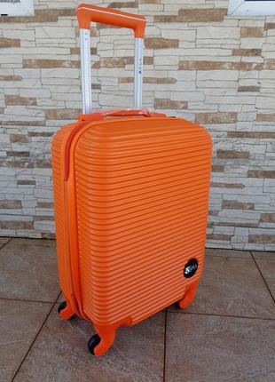 Дорожный чемодан фирмы fly 9124 orange