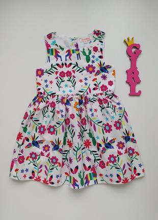 2-3 года, платье bluezoo.