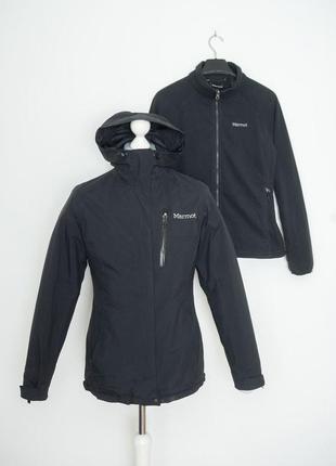 Куртка marmot с флисовым подкладом m
