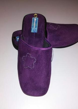 Стильные, качественные тапочки для девочки тм inblu.