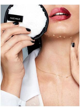 Face halo original - многоразовый спонж для снятия макияжа