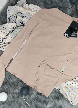Новая блуза кофточка лонгслив only