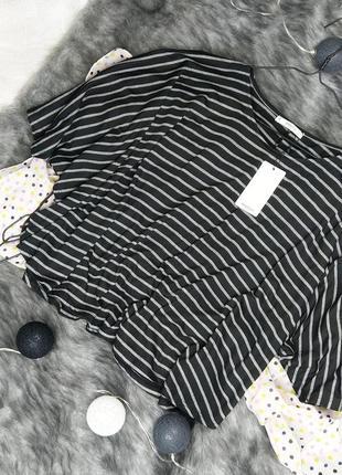 Новая блуза кофточка топ пончо