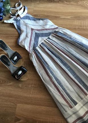 Плаття/сукня/сарафан в смужку