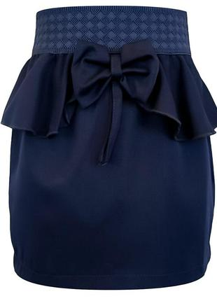 Школьные юбки. юбка карандаш для девочки. темно-синяя юбка в школу