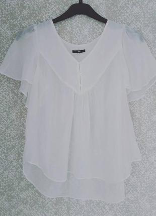 Легкая блузочка h&m