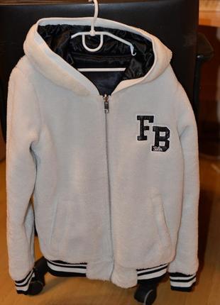 Двухсторонняя куртка бомбер fb sister