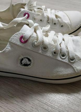 Crocs кеды белые