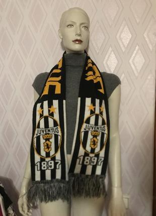 Футбольный шарф ювентус
