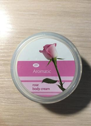 Крем для тела boots aromatic rose body cream англия