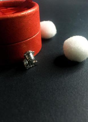 Шарм на браслет единорог лошадь пони пандора серебро проба 925
