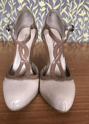 Классические бежевые туфли ❣️