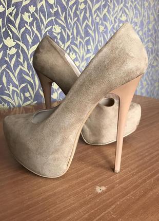 Супер туфли на высоком каблуке 👠