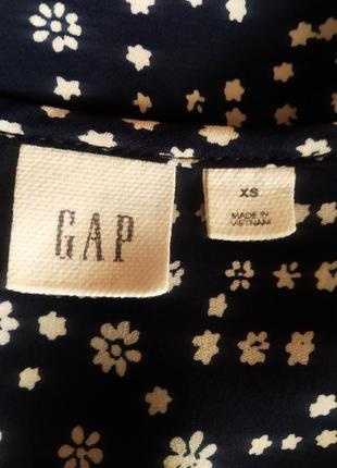 Блуза свободного кроя с защипами от gap2 фото
