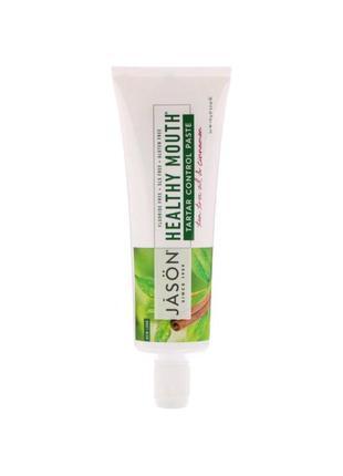 Зубная паста jason natural с маслом чайного дерева и корицей