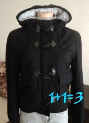Теплая шерстяная куртка  atmosphere