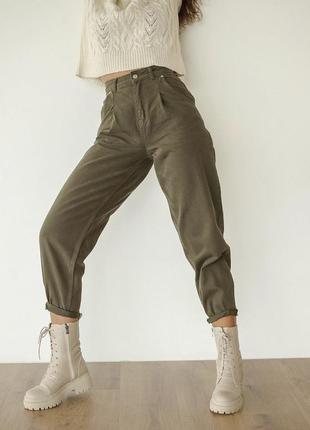 Джинси моми хакі, джинсы сомы хаки dilvin