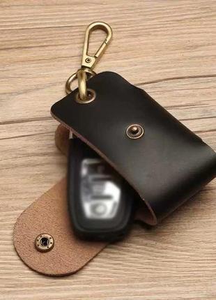 Кожаный чехол, чехол к ключам, универсальный чехол, подарок