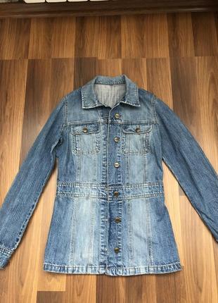 Джинсовая куртка h&m размер s