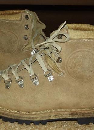 Винтажные трекинговые ботинки henke швейцария