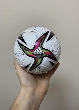 М'яч футбольний adidas uniforia mini fh7342 розмір №1 білий