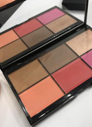 Палетка для лица kiko milano smart essential face palette