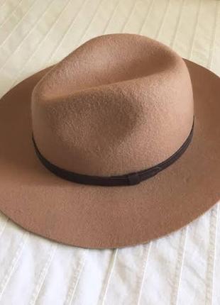 Класний шерстяний капелюх, шляпа 58 р.h&m 130 грн