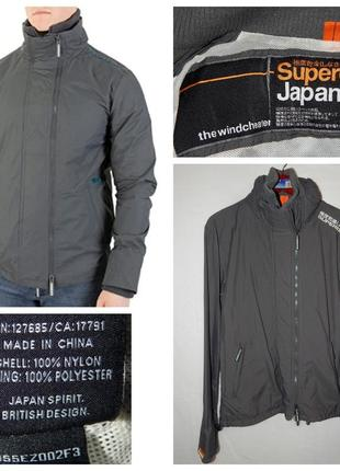 Куртка ветровка superdry jpn windcheater jacket size m
