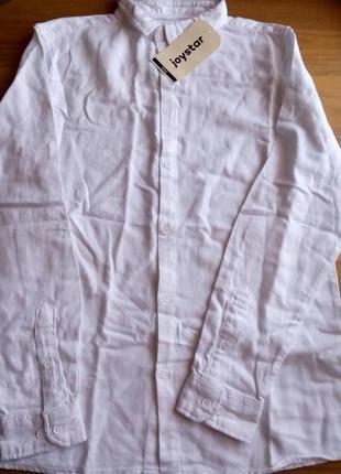 Фланелевая рубашка с длинным рукавом joystar 14 лет рост 164