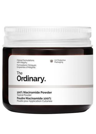 Порошок ниацинамида the ordinary 100% niacinamide powder 20 г