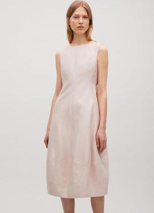 Нежное хлопковое платье cos 14- 16 размер