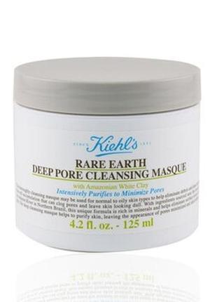 Маска для лица kiehl's since rare earth deep pore cleansing mask 4.2 oz/ 125 ml