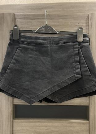 Шорты-юбка stradivarius