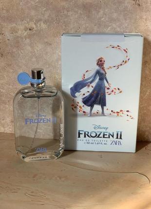Духи zara disney frozen 2/туалетная вода для девочек //zara kids