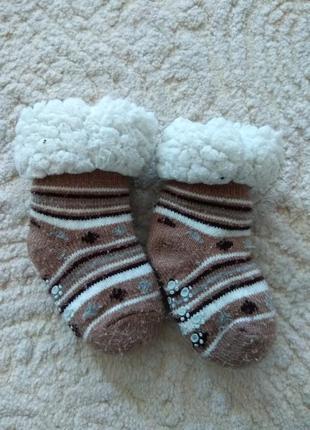 Теплі носочки, пінетки