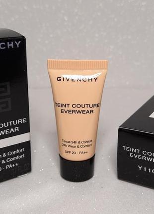 Тональный крем givenchy teint couture everwear spf20  тон y110