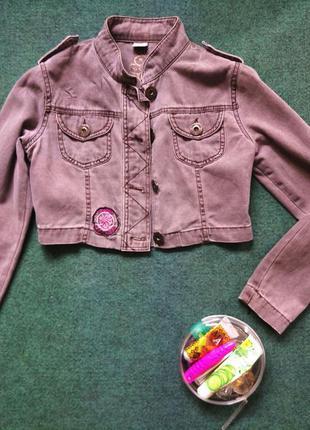 Коротка джинсова куртка3