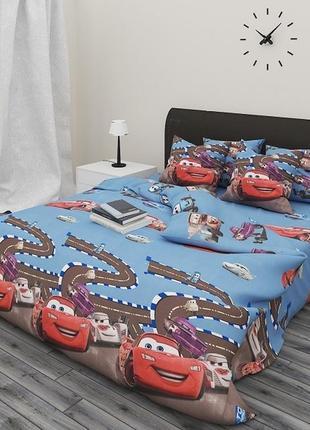 Детский комплект постельного белья (в кроватку), бязь