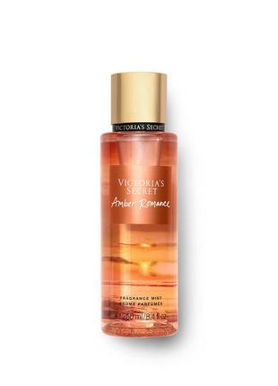 Парфюмированный спрей для тела amber romance victoria's secret